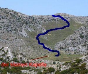 Wegbeschreibungen Lassithi-Wanderungen