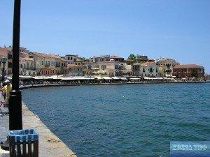 Hafenpromenade von Chania.