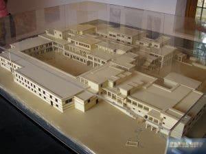 Modell Palast von Malia