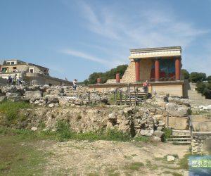 Wegbeschreibung Knossos