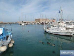 Iraklion venzianischer Hafen