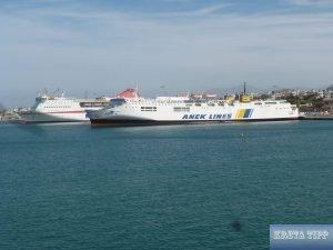 Autofähren Iraklion