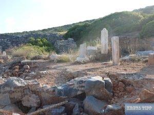Reste der Fokas-Kirche