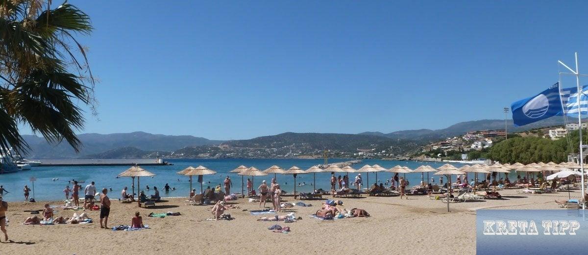 Strand in Agios Nikolaos