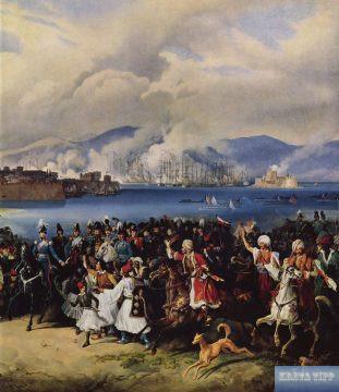 Einzug König Ottos in Nauplia